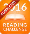 Goodreads.com 2016 Reading Challenge Badge