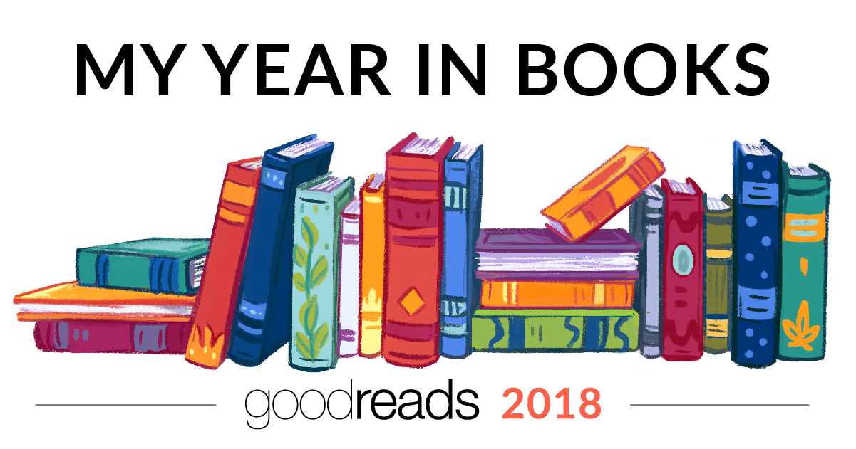 My Year in Books! See what I read in 2018! #goodreads #yearinbooks